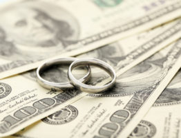 money divorce