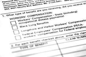 An image of the complicated paperwork required for workers comp appeals
